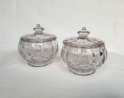 Set Of Two Glass Containers  • 7£
