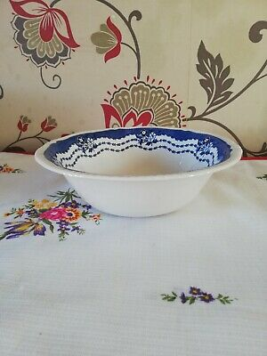Ridgway Blue And White Bowl • 3.99£