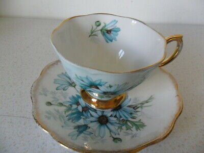 Royal Albert Coffee Cup And Saucer With Gold Gilding  Marguerite  • 10£