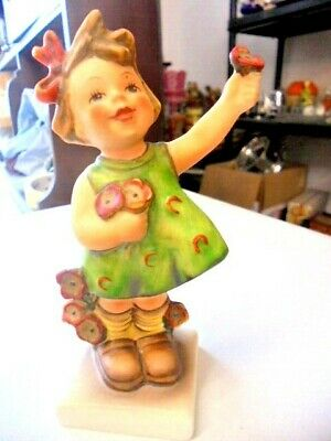 VINTAGE HUMMEL GOEBEL FIGURINE   SPRING CHEER No72   FROM HOUSE CLEARANCE • 16.99£