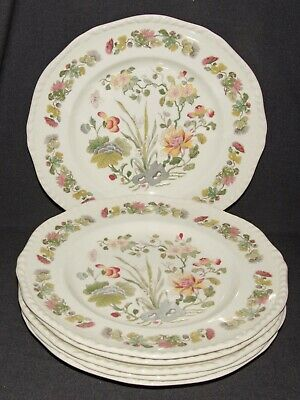 Adams Country Meadow 6 Dinner Plates 10.5  • 7.95£