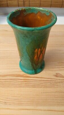 Crown Ducal Ware England Green Vase 151 • 6.99£