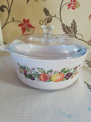 Johnson Brothers Fresh Fruit Large Casserole With Lid(by Corning)  • 5.40£