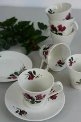 Lord Nelson Retro Rose Cups & Saucers Plates • 30£