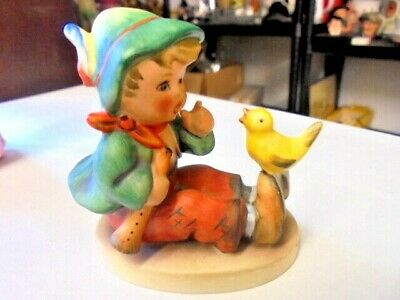 Vintage Hummel Goebel Figurine  Singing Lesson   63 From House Clearance • 11.99£