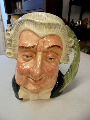 Large Royal Doulton Character Jug The Lawyer D6498  From House Clearance  • 18.99£