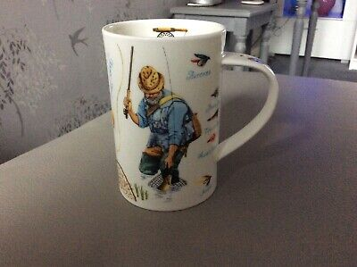 """Dunoon Mug By Richard Partis Fishing Country Scenes """"156"""" • 9.99£"""
