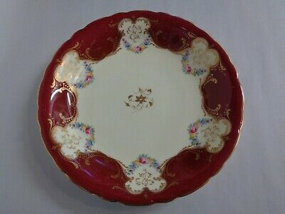Royal Worcester Cake Plate C1930's • 0.99£