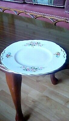 Vintage Dorchester China Bread/sandwich Plate Approx 24cm Wide Floral Pattern. • 3.30£
