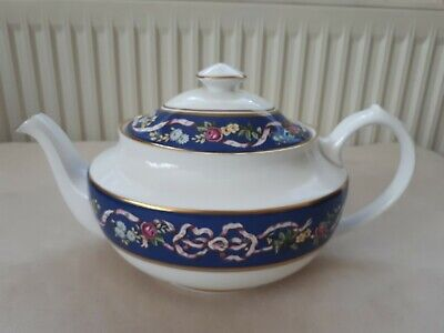 Spode Tea Pot Ribbons & Roses. Excellent Condition. Never Used. • 55£