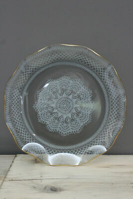 Retro Vintage Chance Glass Plate • 14£