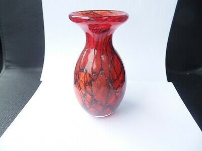 Phoenician  Glass Vase  Signed • 6.99£
