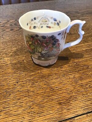 Royal Doulton ~ Brambly Hedge Collection  Autumn   Beaker • 5£