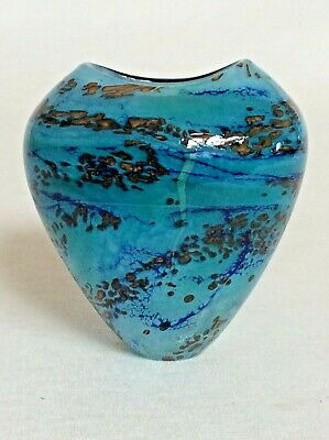 Peter Layton Signed Glass Vase _ One Owner _ Just A Stunning Example. • 365£