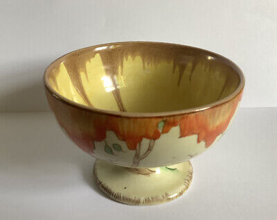 Clarice Cliff Pottery Taormina Goblet Bowl • 50£