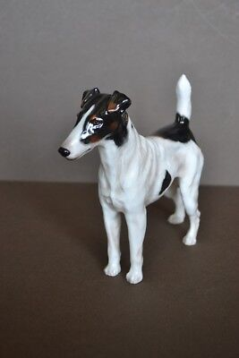 Royal Doulton Rare Smooth-Haired Terrier Ch. Chosen Don Of Notts HN 1069 Medium • 345£