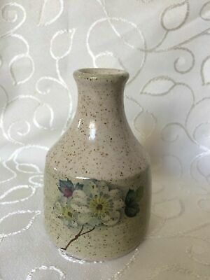 Small Speckled Stoneware Bud Vase, Purbeck Pottery • 1.99£