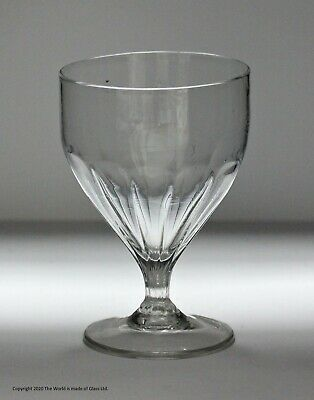 Late Georgian Hand-blown Ovoid Bowl Rummer Glass • 40£