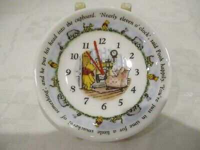 Royal Doulton Winnie The Pooh Miniature Clock Plate. Made For Gabrielle Designs  • 1.70£