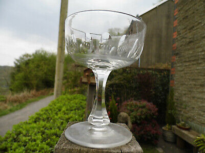 Antique Georgian Drinking Glass • 9.99£