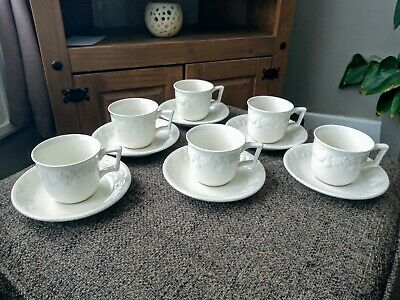 6 X Lincoln Bhs Cups & Saucers  • 14.99£