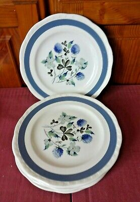 Alfred Meakin Blue Clover 6 X Side Plates  • 6.99£