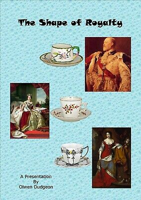 'The Shape Of Royalty'. Illustrated Booklet On Shelley And Wileman Cup Shapes • 4.50£