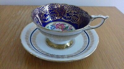 Royal Stafford Empress Bone China Cup And Saucer USED  • 10£