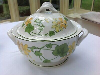 Villeroy And Boch Old Geranium Malva 2.5pt Covered Vegetable Dish • 40£