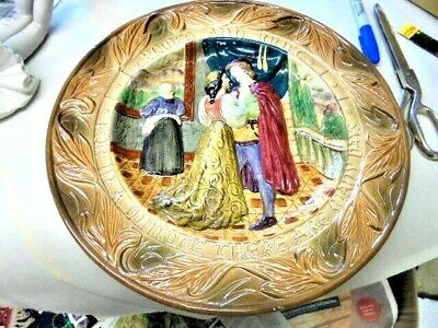 Beswick Shakespeare Large Plate / Charger Romeo And Juliet From House Clearance  • 18.99£