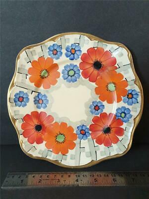 1931-1933 Grays Pottery Hand Painted Bright Floral Plate 9039 • 11.99£