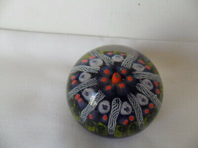 Strathearn Glass Paperweight 9 Spokes • 12£