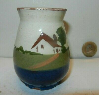 Chesterfield TORQUAY  POTTERY   Spill Vase   Cottage Design A/f • 4£