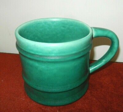 DEVONMOOR PotteryTANKARD -  Green - 4.25  • 17£