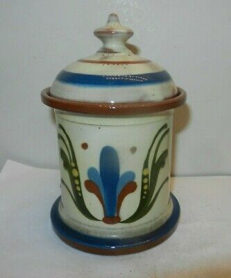 Watcombe Tobacco Jar Scandy With Motto • 18£