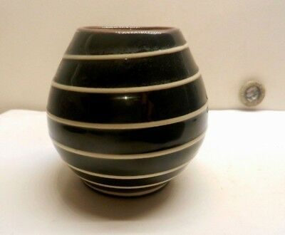 Babbacombe Small Vase With The Spiral Pattern 1956  • 12£