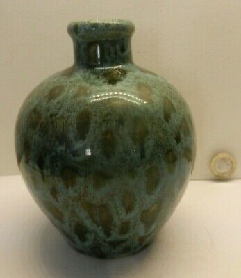 Churston Pottery, Devon Flask 14 Cm • 18£