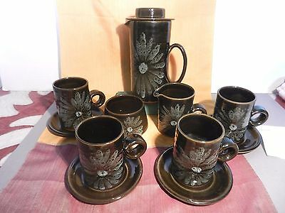 LOTUS Pottery Stoke Gabriel  Coffee SET • 45£
