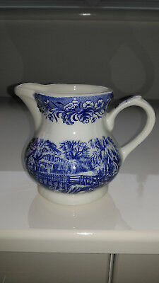 Currier & Ives ' Mill Dam ' Small Jug • 4£