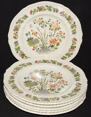 Adams Country Meadow 6 Salad Plates 9.5  • 8.95£