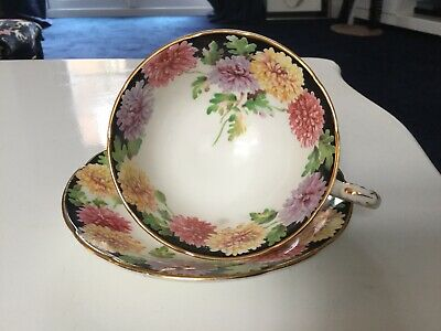 Paragon Rare  Tea Cup & Saucer Chrysantheum Vintage By Appointment • 6.10£