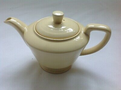 Vintage Woods Ware Rare Jasmine Yellow Teapot - Two Cup • 25.10£