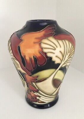 Moorcroft Colourful Mushroom & Toadstool Vase - Rare Design • 55£