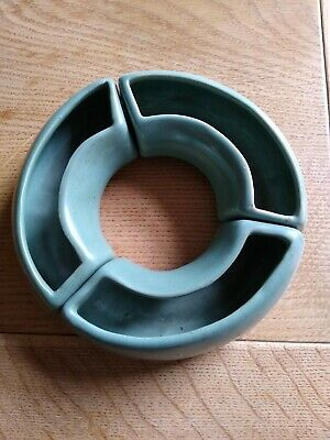 Vintage Buchan Pottery Portobello Edinburgh Posy Ring • 2£