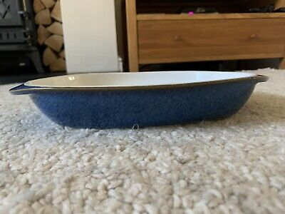 Denby Imperial Blue Serving Dish Excellent Condition • 15£