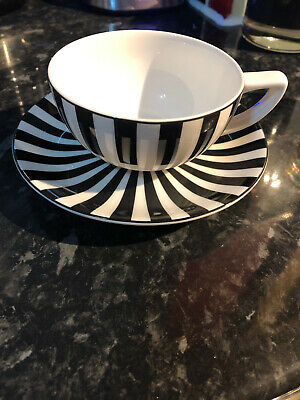 Marks And Spencer Ruby Cup And Saucer Set Of 6 • 1.60£