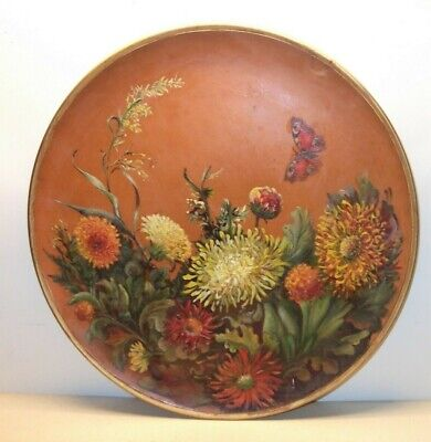WATCOMBE POTTERY Floral CHARGER 31 Cm • 38£