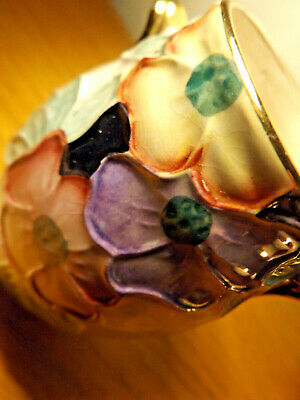 A Small Pretty Maling Colourfull Flower Vase, • 8.99£