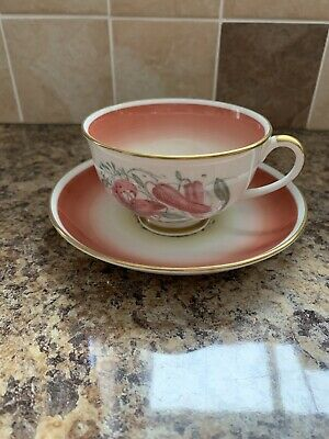 Susie Cooper - Cup And Saucer • 8.27£