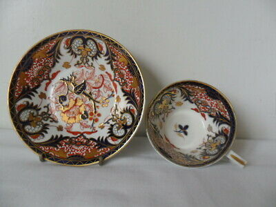 Antique Crown Derby? Imari Cup And Saucer • 45£